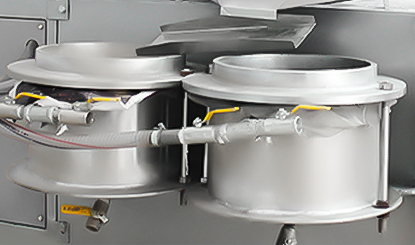 Vacuum oil filtration system