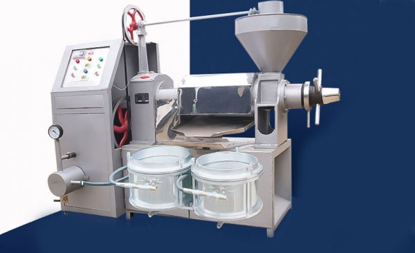 automatic spiral oil expeller