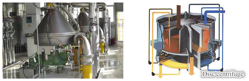 centrifuge of oil alkali deacidification system