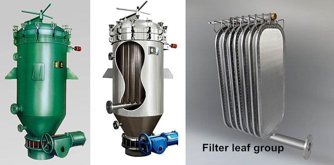 leaf filter structure