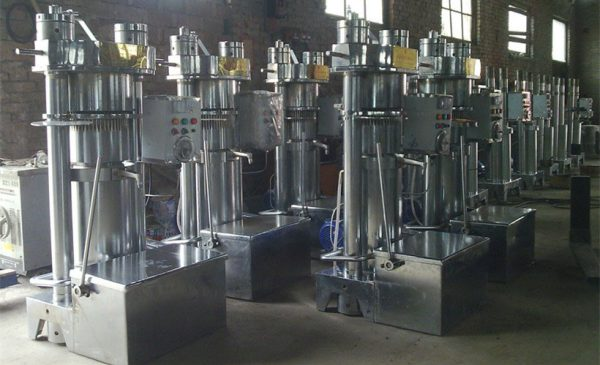 how to maintain hydraulic oil press machine