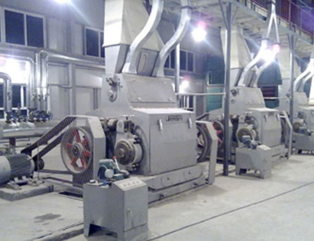 Oilseeds Flaking Machine