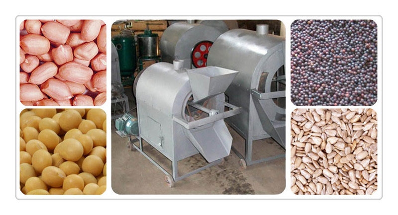oilseeds roasting machine for sale and price