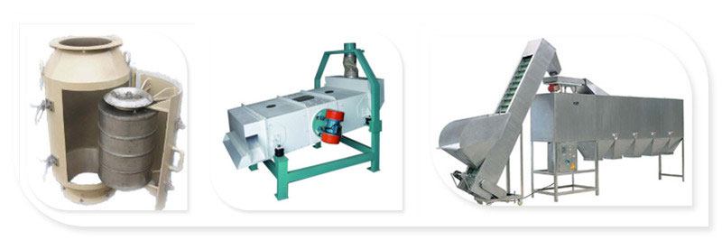 peanut cleaning machines for removing impurities