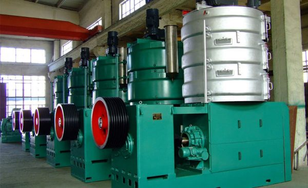 peanut oil pressing production plant
