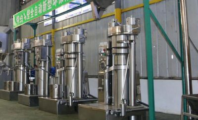 sesame oil pressing mill project