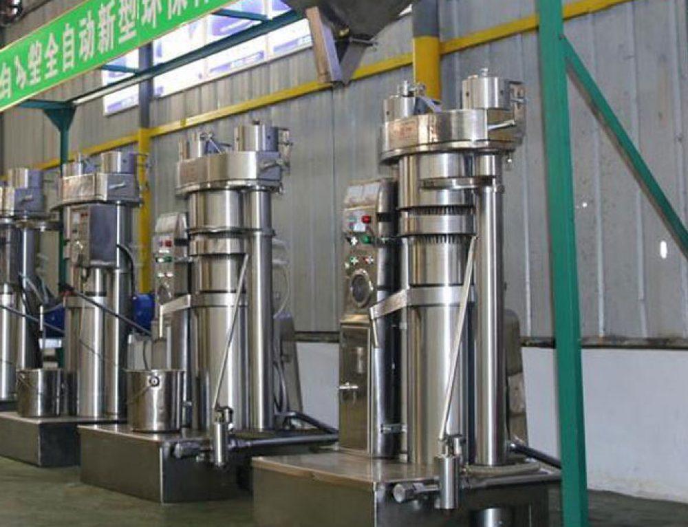 ligne de production d'huile de sésame