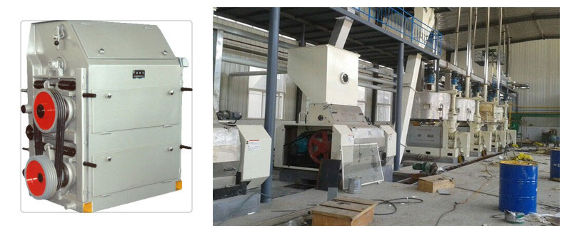 soybean crusher in soybean oil production line