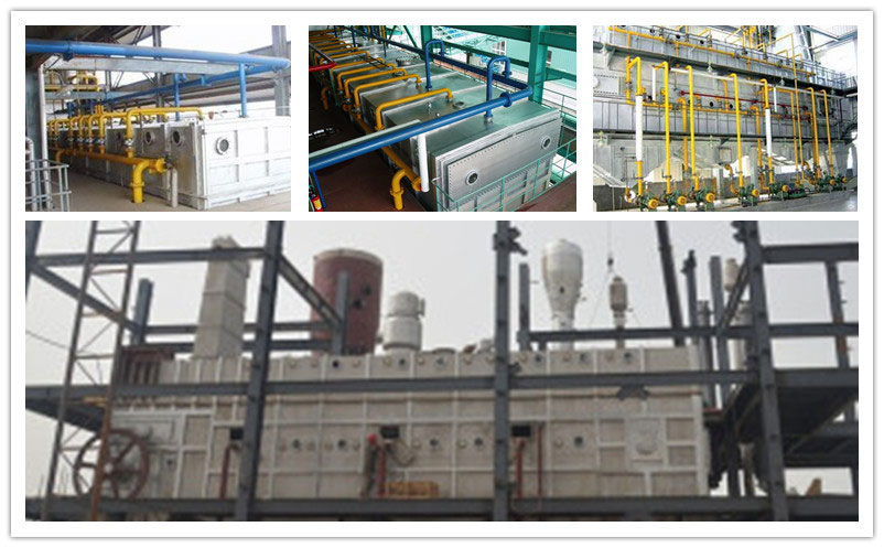towline oil extractor in oil solvent extration plant