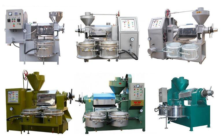 models of integrated screw oil press machine for sale