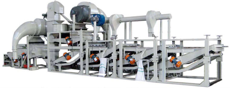 TFKH-1200 sunflower dehulling machine