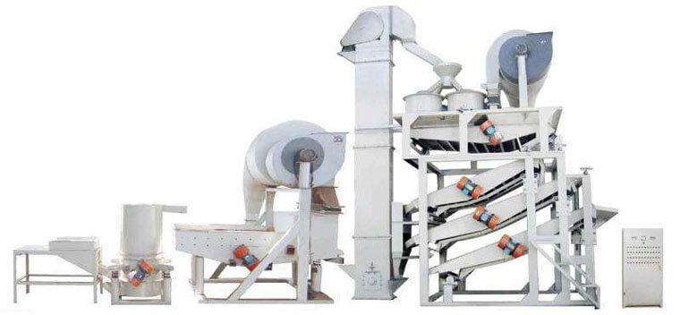TFKH1500sunflower dehulling machine