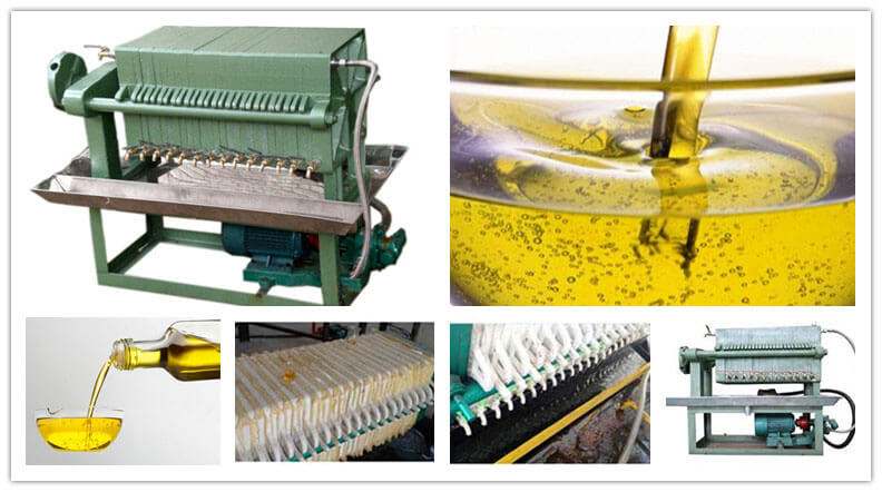 edible oil filter machine