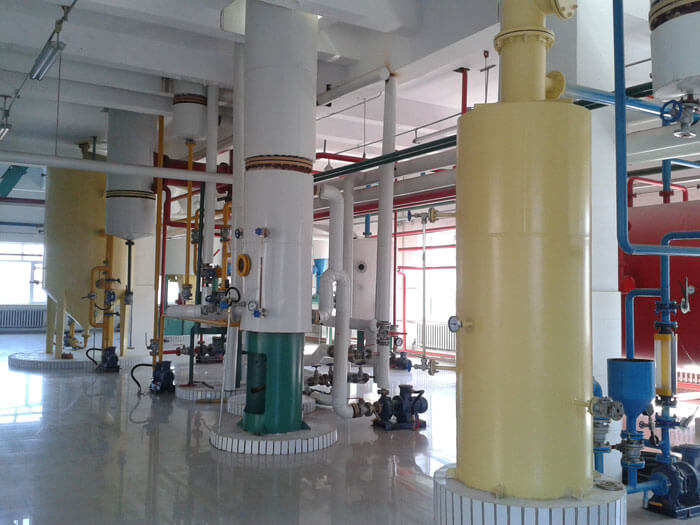 mineral oil system
