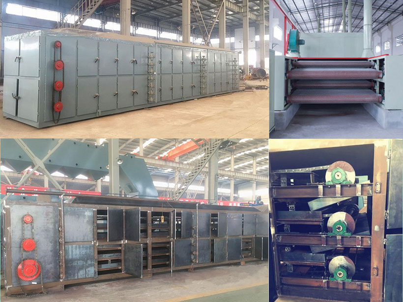 detailed structure of plate drying machine