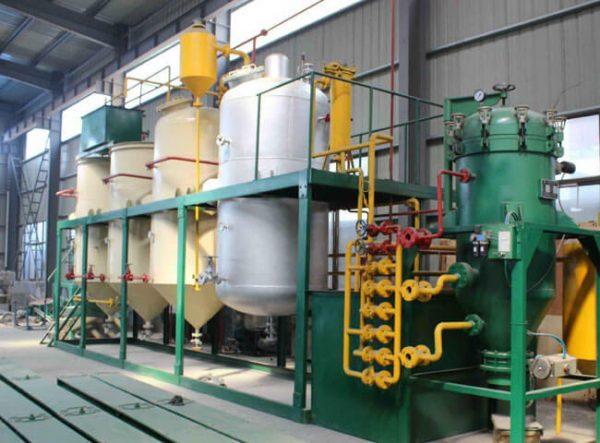 Small edible oil refinery equipment unit