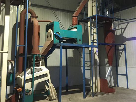 oilseeds cleaning equipment