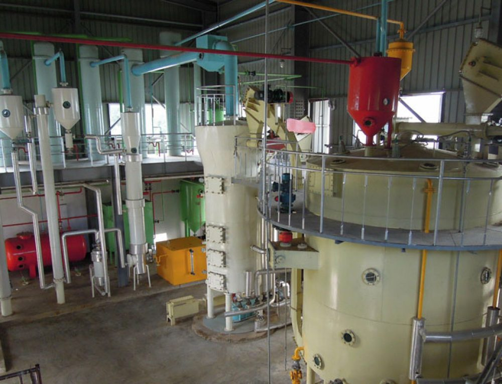 Soybean Oil Production Plant
