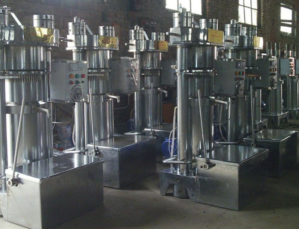 Maintenance of Hydraulic Oil Pressing Machine