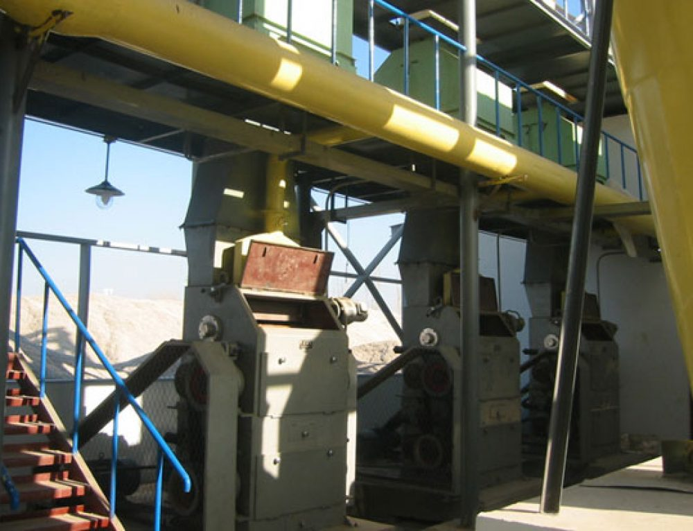 Oilseed Crushing Machine