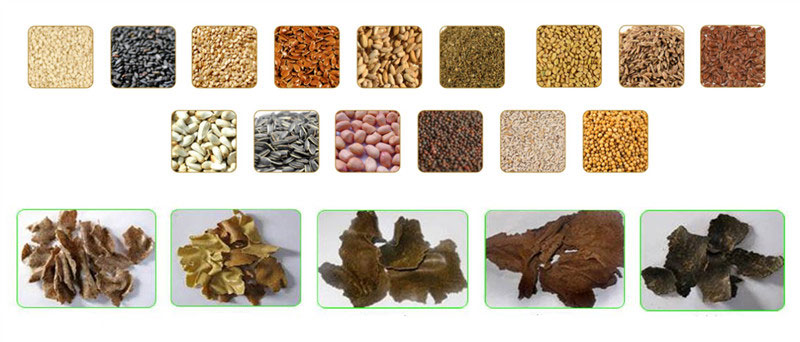 oilseeds and oil cakes for oilseed crushing machine