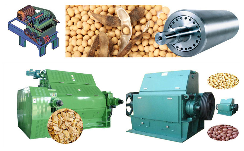 oilseeds flaking roll machine
