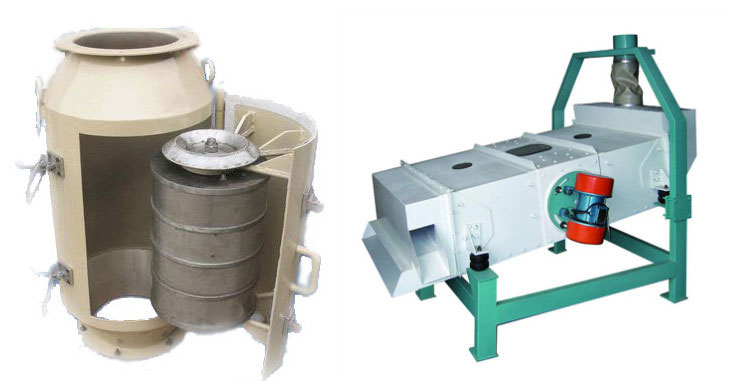 palm kermel cleaning machine for preprocessing of palm kernel oil