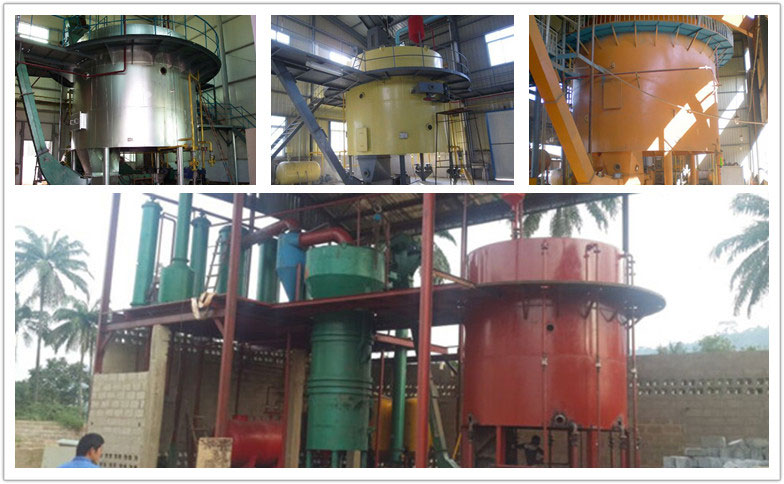 rotocel oil extractor machine and its installation in oil solvent extraction plant