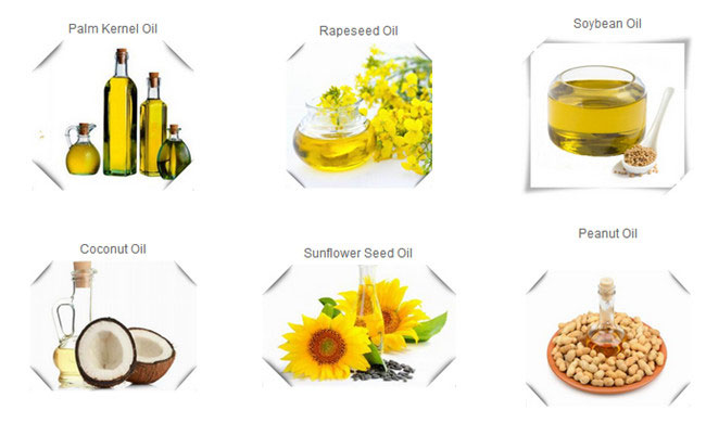 applications of vegetable oil refining line
