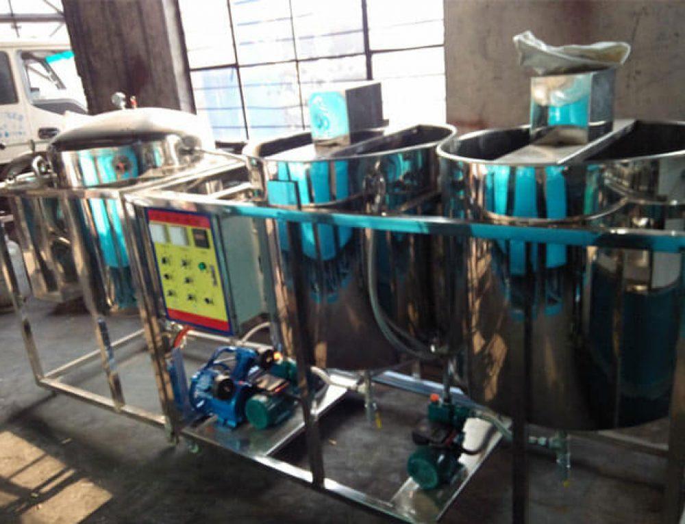 Degumming Process in Oil Refining Plant