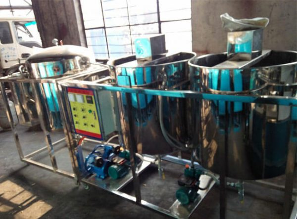 crude oil degumming equipment