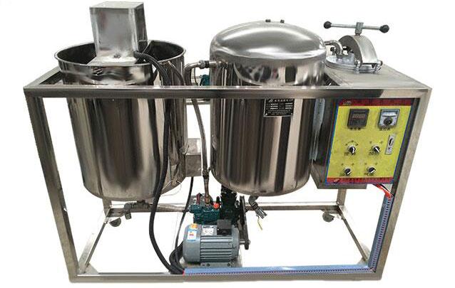 crude oil degumming equipment