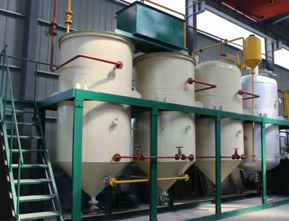 Deacidification System of Crude Oil Refining Machine