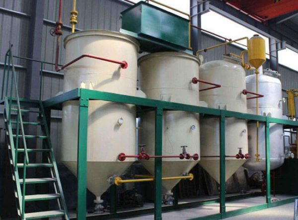 edible oil deacidification equipment