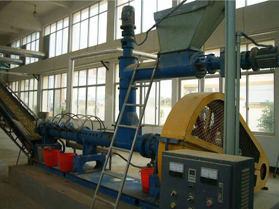 oilseeds extruder machine