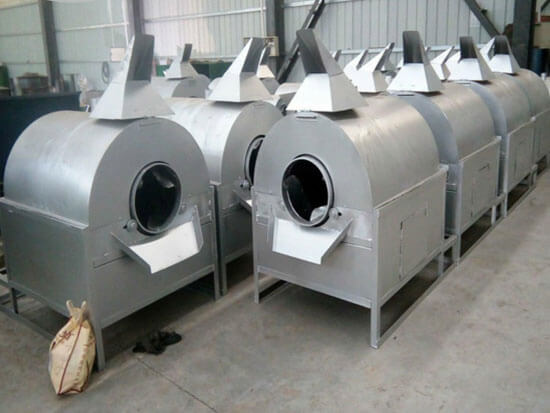 oilseeds roasting machine for edible oil mill