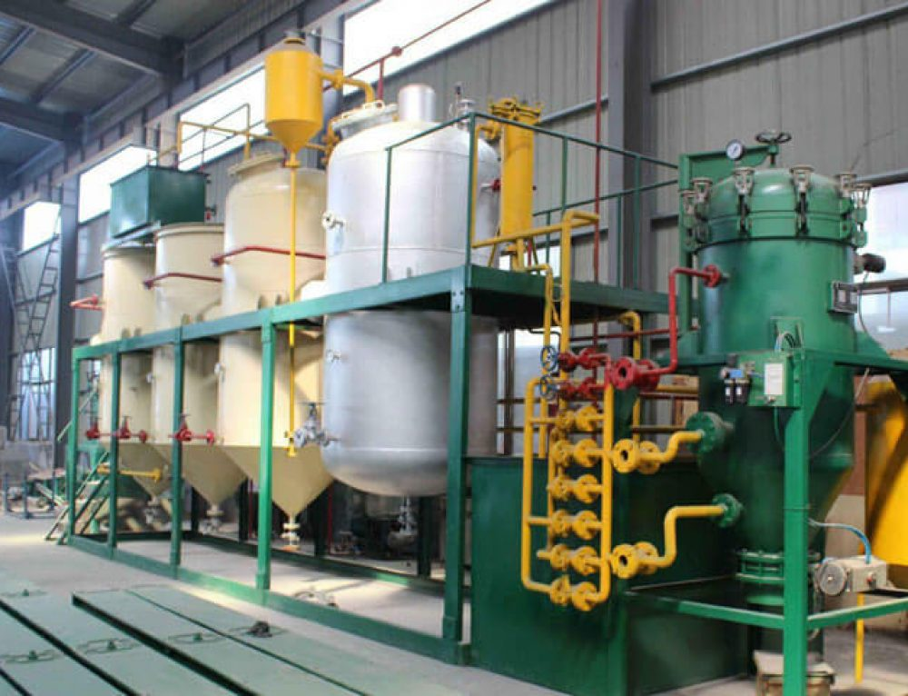 Small Scale Edible Oil Refinery Plant