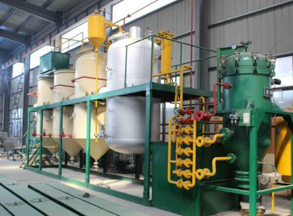 Small edible oil refinery equipment unit
