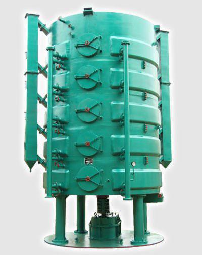 vertical oilseeds cooking machine