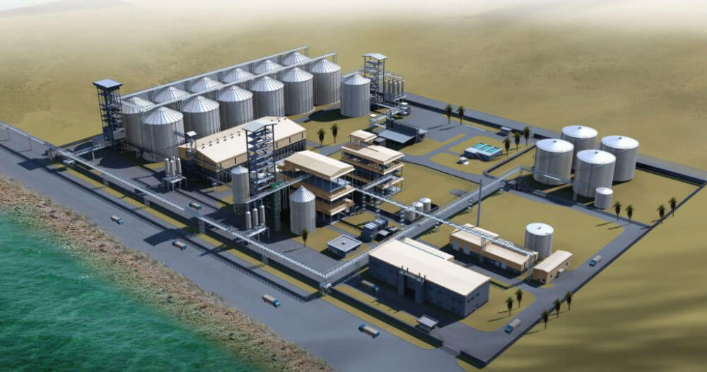 edible oil manufacturing facility design